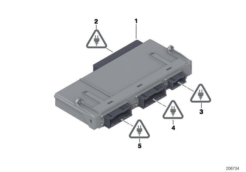 宝马,接线盒 电子装置 3,61359284284-宜配网-中国的
