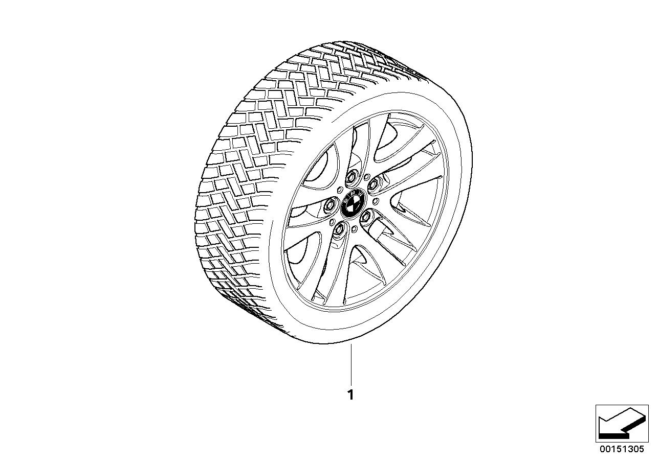 汽车轮毂手绘图
