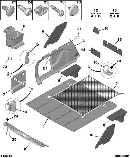 行李箱地毯,7568 lc